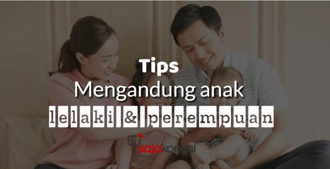 Tips mengandung anak lelaki dan perempuan popular